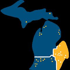 selected frame east Michigan