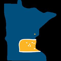 metro area selected frame Minnesota