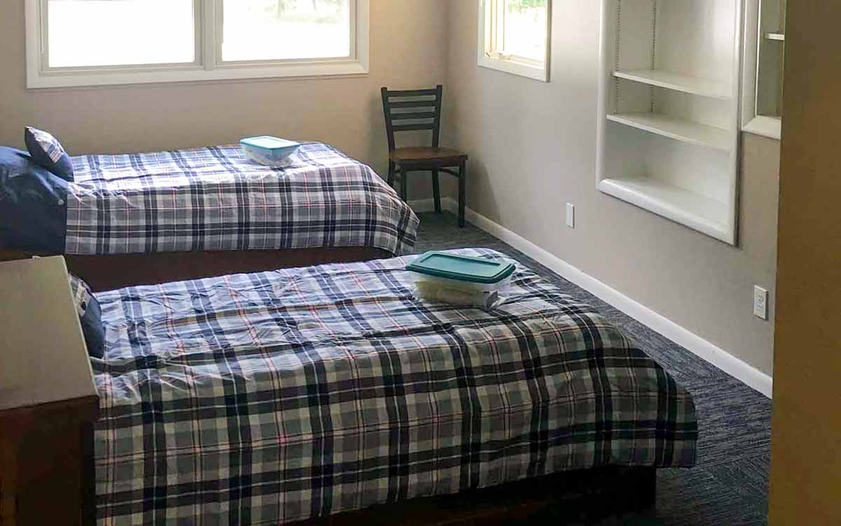 Hart two bed bedroom