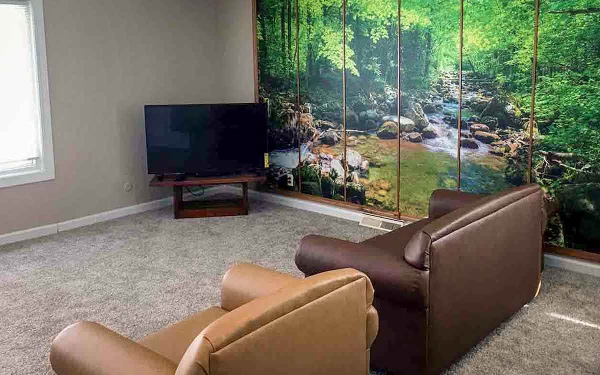 Jackson Cascades Living Room