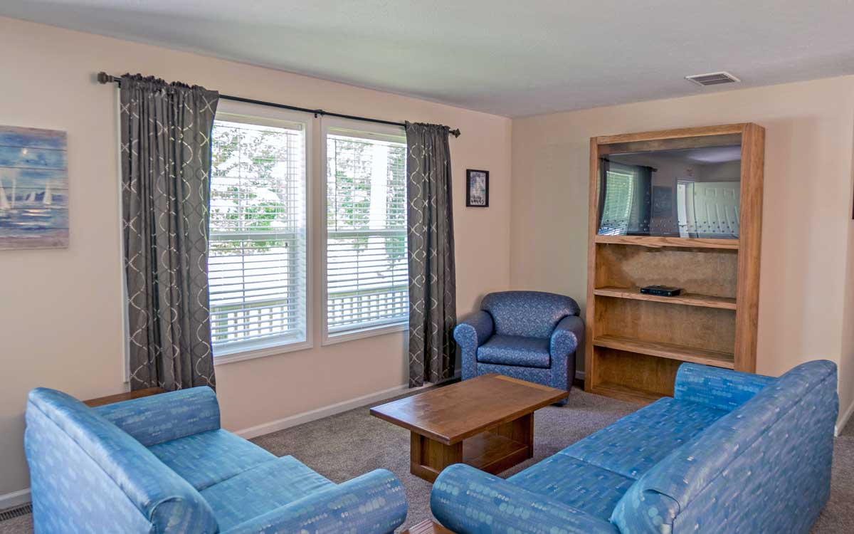 Blue Lake Living Room